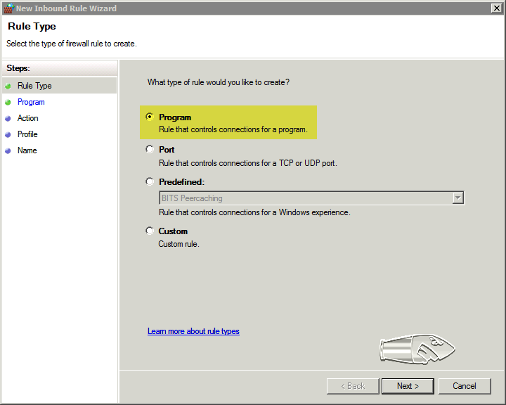 Windows Firewall, NAT and Routers – BulletProof FTP Server